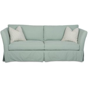 KlaussnerTwo Cushion Sofas, Slipcover