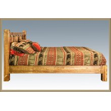 Homestead Platform Beds - Stained and Lacquered