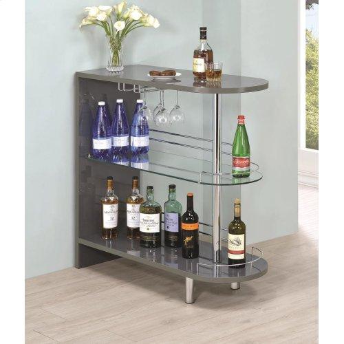 Glossy Grey Bar Unit