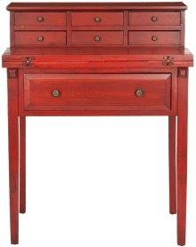 Abigail Fold Down Desk - Egyptian Red