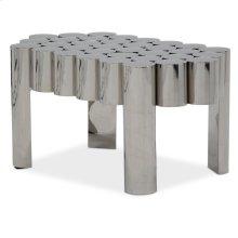 La Tania End Table - Silver