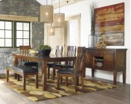 RECT DRM Butterfly EXT Table with 4 chairs