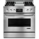 """Jenn-Air® 36"""" Pro-Style® LP Range with Griddle and MultiMode® Convection System, Pro-Style® Stainless Product Image"""