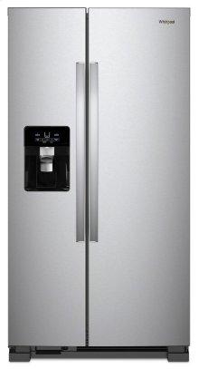 36-inch Wide Side-by-Side Refrigerator - 25 cu. ft.