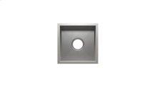 "UrbanEdge® 003608 - undermount stainless steel Bar sink , 12"" × 12"" × 7"""
