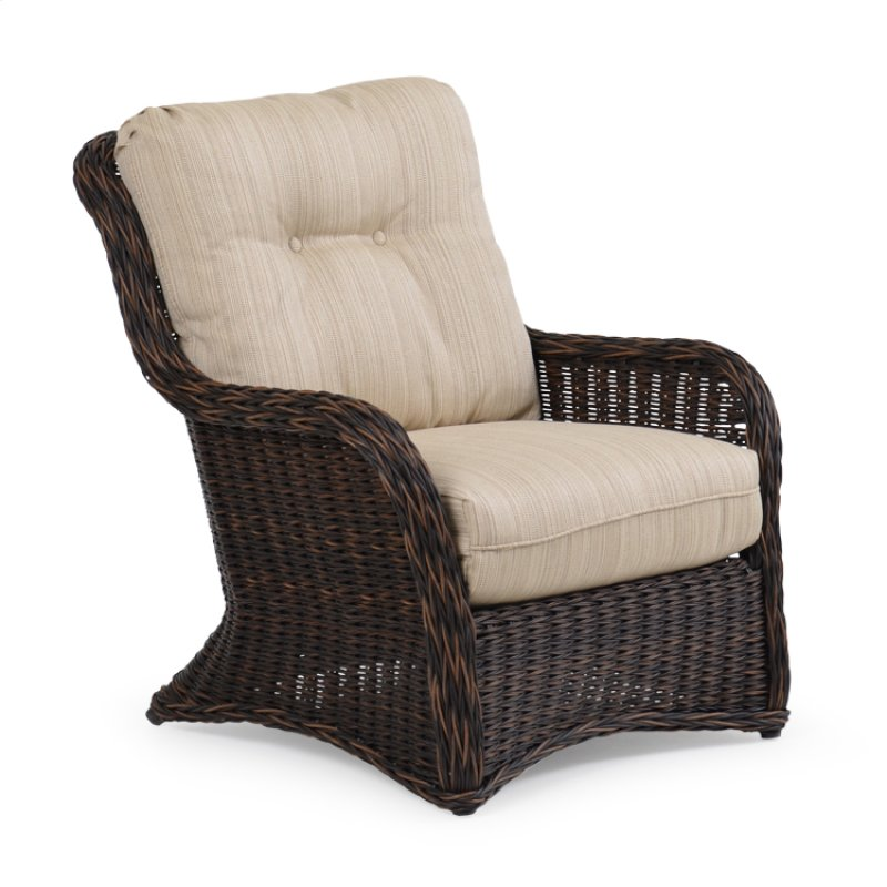 4305 In By Palm Springs Rattan Chesapeake Va Outdoor Wicker Lounge Chair