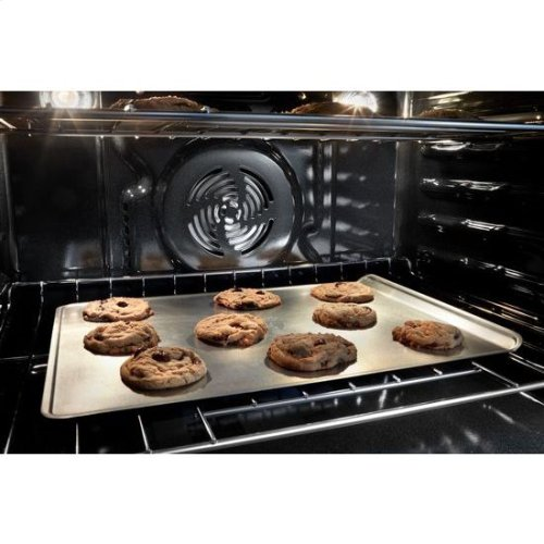 Whirlpool® 8.6 cu. ft. Smart Double Wall Oven with True Convection Cooking - Black Stainless