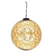 "10"" Classic Gold Ball Ornament"