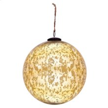 "10"" Classic Gold Ball Ornament"
