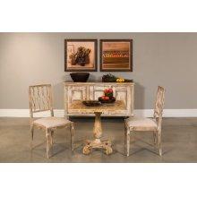 *Bistro Table, Antique Oak