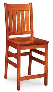 "Grant Stationary Barstool, 24"" Seat Height"