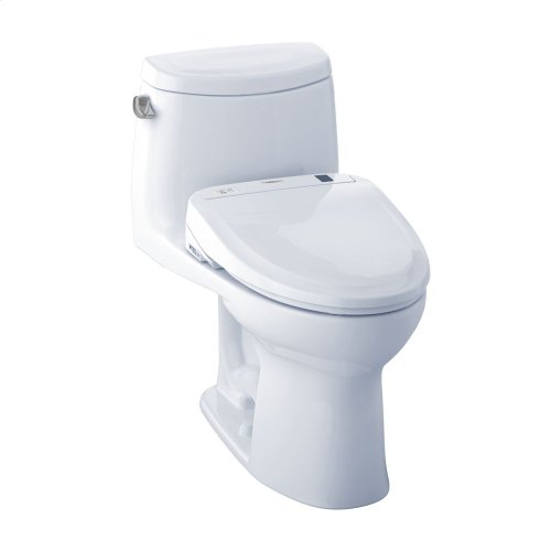 UltraMax II WASHLET®+ S300e One-Piece Toilet - 1.28 GPF - Cotton