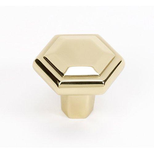 Nicole Knob A423 - Polished Brass