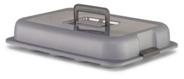 Nonstick 12-Cavity Regular Sized Muffin Pan with Snap & Go Lid - Other