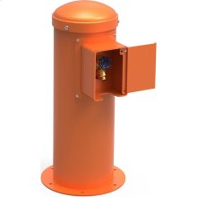 Elkay Yard Hydrant with Locking Hose Bib Non-Filtered, Non-Refrigerated Orange