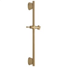 "Champagne Bronze 24"" Adjustable Wall Bar"