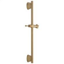 "Champagne Bronze 24"" Adjustable Wall Bar"