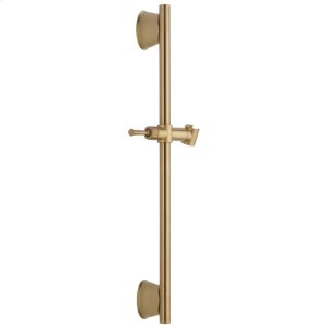 """Champagne Bronze 24"""" Adjustable Wall Bar Product Image"""