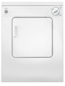 3.4 cu.ft. Compact Electric Dryer with AccuDry Drying System