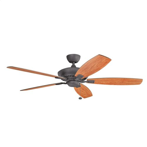 """Canfield XL Collection Canfield XL 60"""" Ceiling Fan - In Brushed Nickel"""