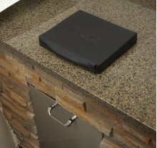 Trash Chute Carbon Fiber Vinyl Cover