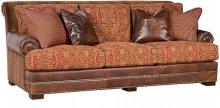 Barclay Leather/Fabric Sofa