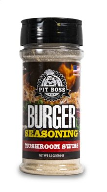 Mushroom Swiss Burger Seasoning