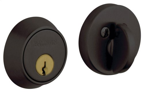 Oil-Rubbed Bronze Contemporary Deadbolt