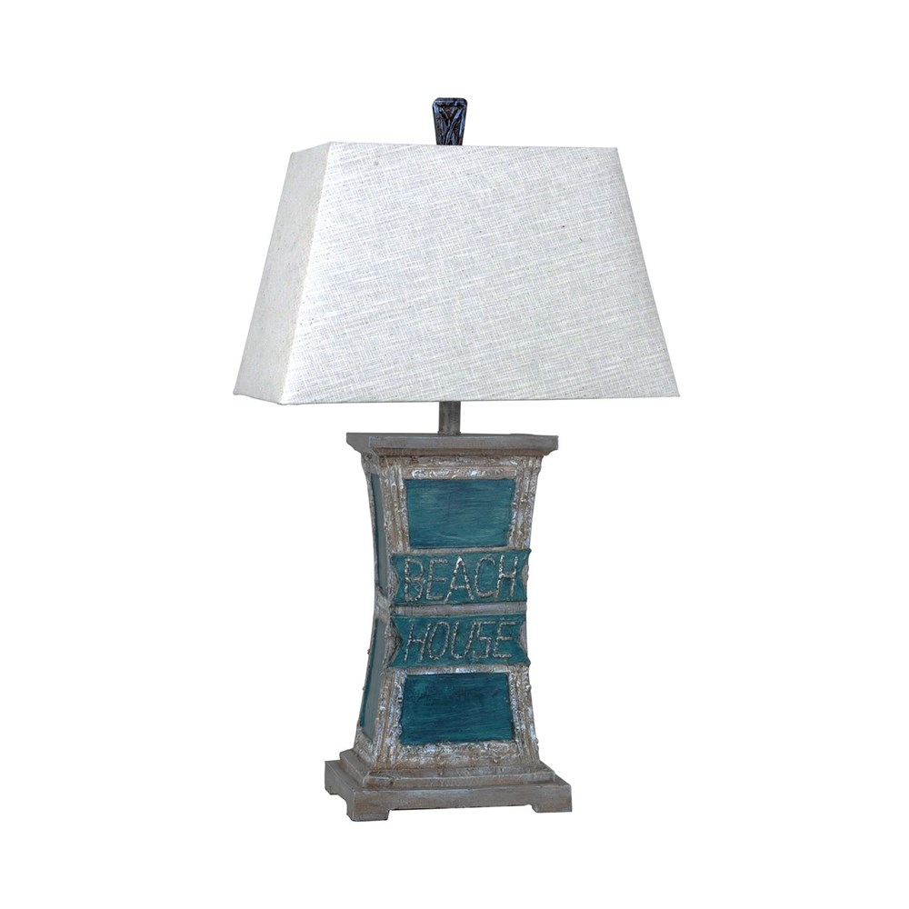 Beach Table Lamp Hidden