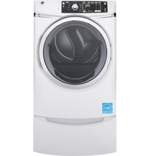 GE® 8.3 cu. ft. Capacity Front Load Electric ENERGY STAR® Dryer with Steam [OPEN BOX]