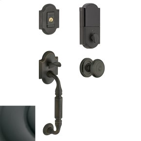 Oil-Rubbed Bronze Evolved Canterbury Knob Sectional Handleset