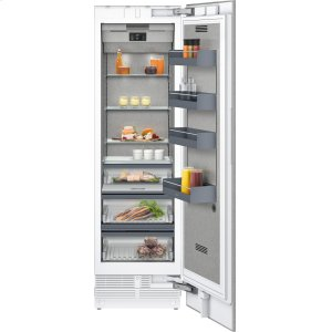 "Gaggenau400 series 400 series refrigeration column With fresh cooling 32 (degree)F Fully integrated Niche width 24"" (61 cm)"