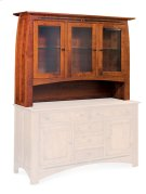 Aspen Open Hutch Top, Large, Antique Glass Product Image