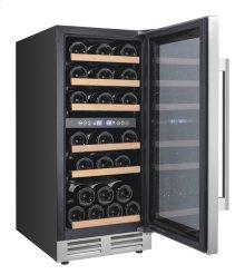 28 Bottle Designer Series Dual Zone Wine Chiller w/Seamless Door