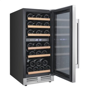 Avanti28 Bottle Designer Series Dual Zone Wine Chiller w/Seamless Door