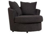 Fuzzy Wuzzy Swivel Cuddler Chair, AC820