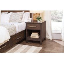 Auburn Bay Nightstand with Opening