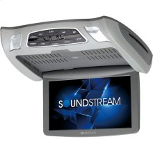 """10.3"""" Ceiling-Mount DVD Player with IR & FM Transmitters & Interchangeable Skins"""
