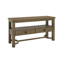 Madera Sofa Console Table