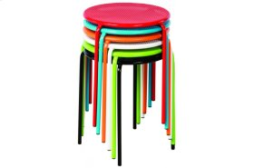 Martini Accents Side Table Set - 6 Assorted Colors