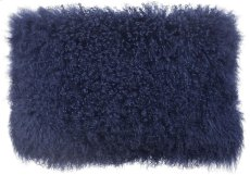 Tibetan Sheep Long Blue Pillow Product Image