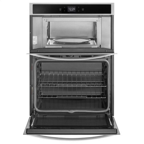 5 7 cu  ft  Smart Combination Wall Oven with Touchscreen