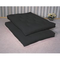 Black Deluxe Innerspring Futon Pad Product Image