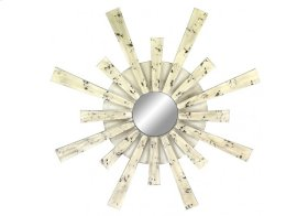 MH1050  Distressed Sunburst Mirrors