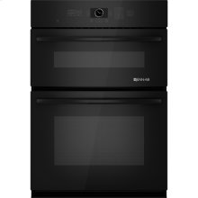 "Combination Microwave/Wall Oven with MultiMode® Convection, 30"", Black Floating Glass w/Handle"