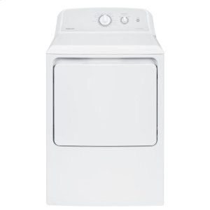 Hotpoint® 6.2 cu. ft. Capacity aluminized alloy Gas Dryer -