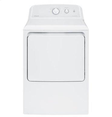 Hotpoint® 6.2 cu. ft. Capacity aluminized alloy Electric Dryer