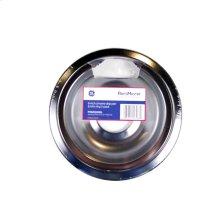 "6"" Chrome Drip Pan & Trim Ring 2-Pack"