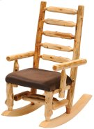 Upholstered Rocking Chair Standard Fabric, Natural Cedar Product Image