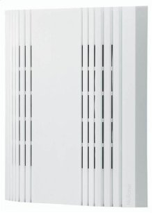 "Decorative Wired Door Chime, 7-3/8""w x 9""h x 2-3/4""d, in White"